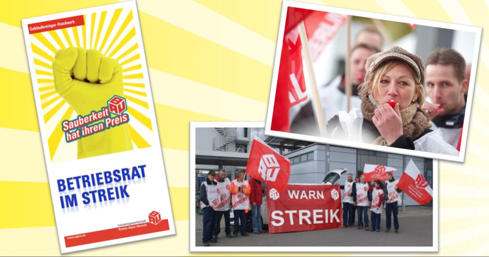 Faltblatt: Betriebsrat im Streik