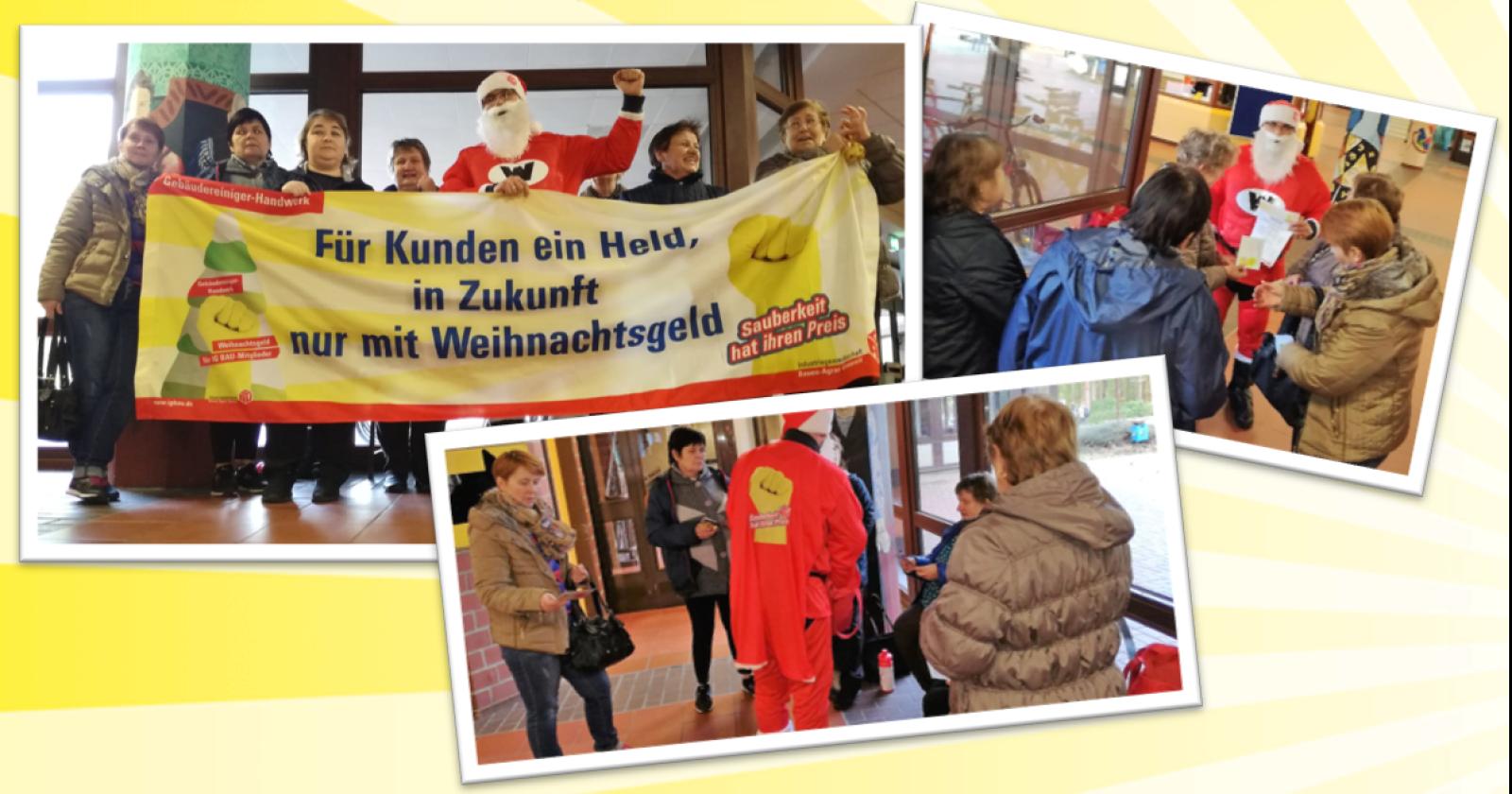 """Kolleginnen von Ray Facility in Lingen: """"Das Weihnachtsgeld können wir alle gut gebrauchen!"""""""