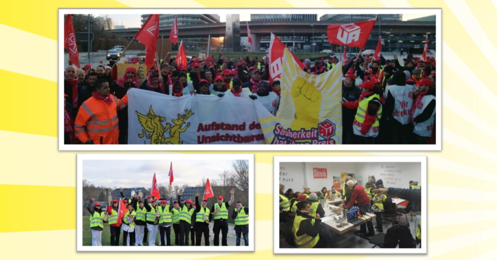 Warnstreiks in Baden-Württemberg erfolgreich angelaufen