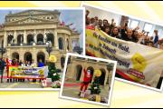 Beschäftigte von Elite/Hectas in Frankfurt stehen zur Forderung nach Weihnachtsgeld