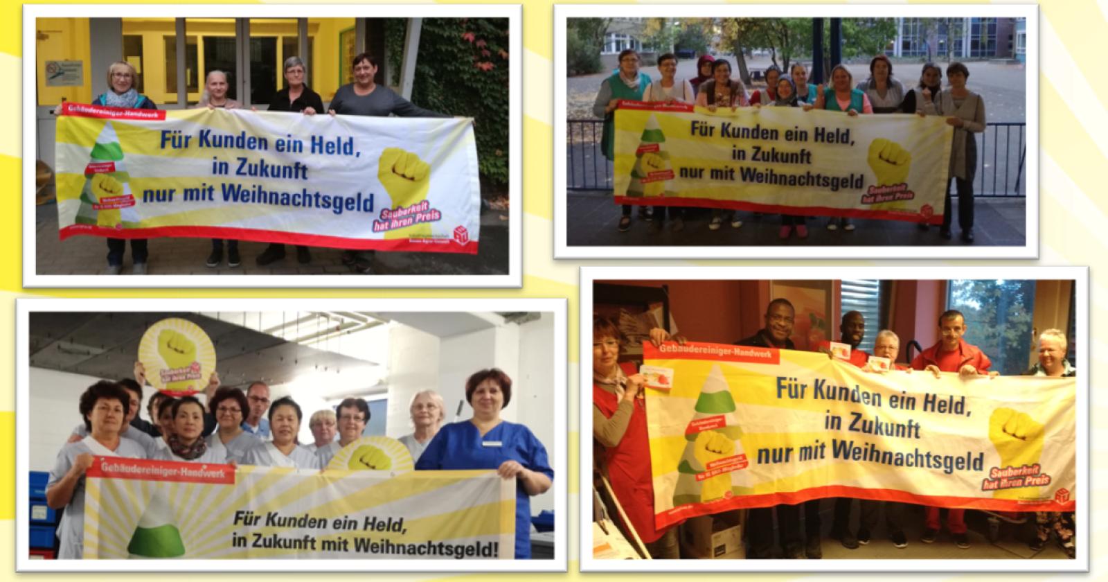 Kolleginnen aus dem Rheinland füllen Wunschzettel aus – Jetzt fehlt nur noch Weihnachtsgeld