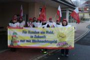 Bezirkskrankenhaus Wöllershof (Oberpfalz) bleibt heute schmutzig- Kolleginnen von Dorfner treten in den Warnstreik