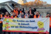 Solidarität macht stark (Teil II) – Pascal Meiser (DIE LINKE) unterstützt GebäudereinigerInnen der Berliner U-Bahn
