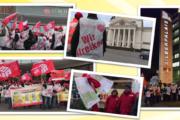 Warnstreiks, Demonstrationen und Kundgebungen quer durchs Rheinland