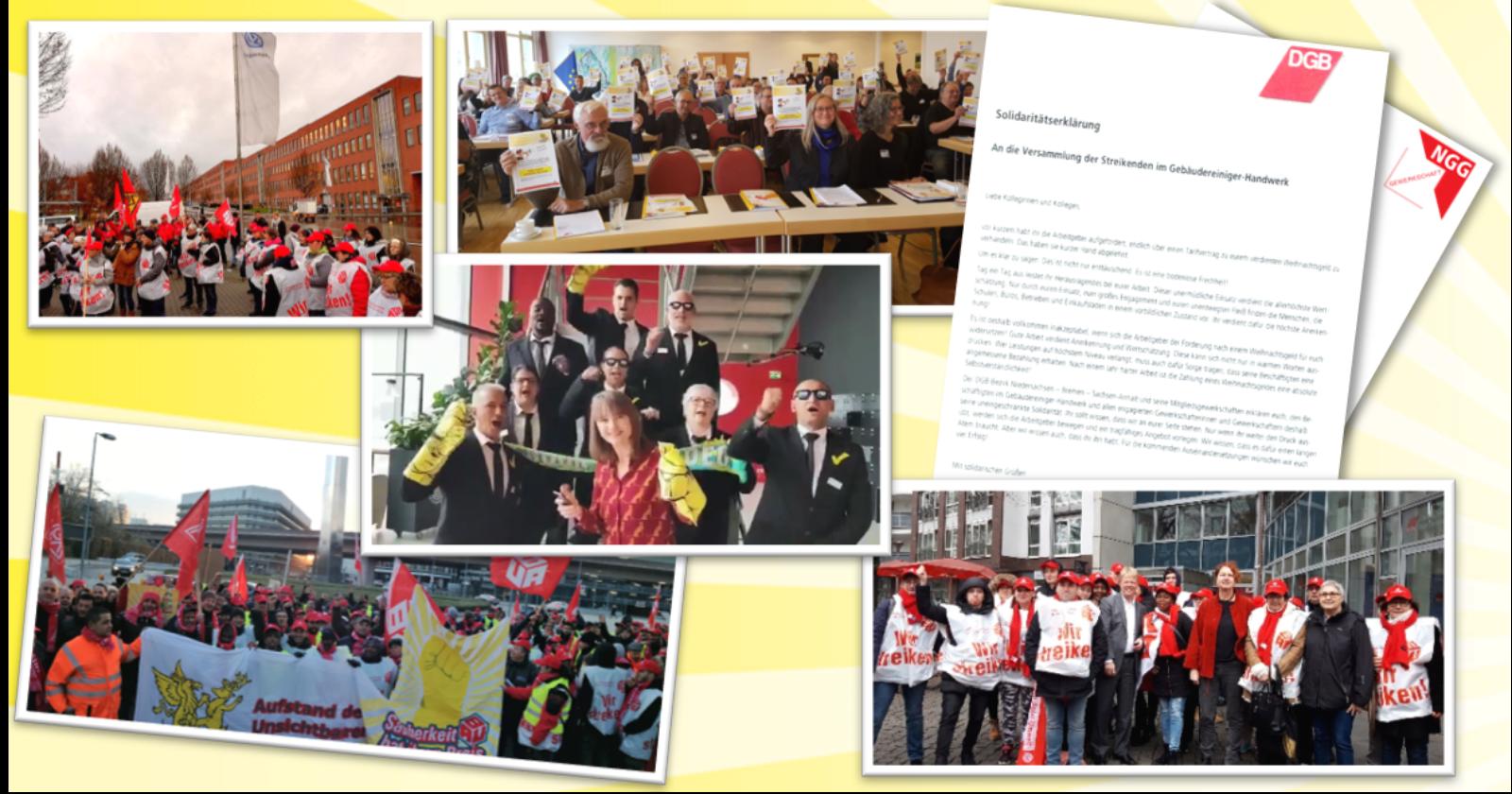 Solidarität macht stark – Danke für die Unterstützung! (Teil I)