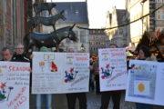 Video: IG BAU Weihnachtsgeld-Aktion auf dem Bremer Weihnachtsmarkt