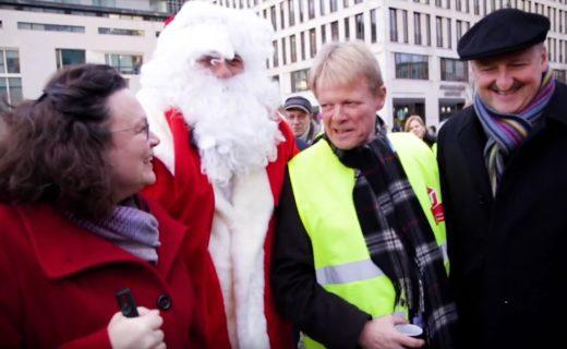 Video: Politiker unterstützen IG BAU-Forderung nach Weihnachtsgeld