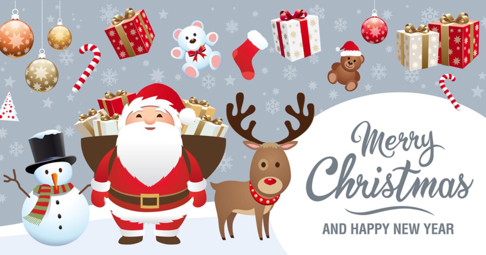 Wir wünschen Euch ein frohes Fest und einen guten Rutsch ins neue Jahr!