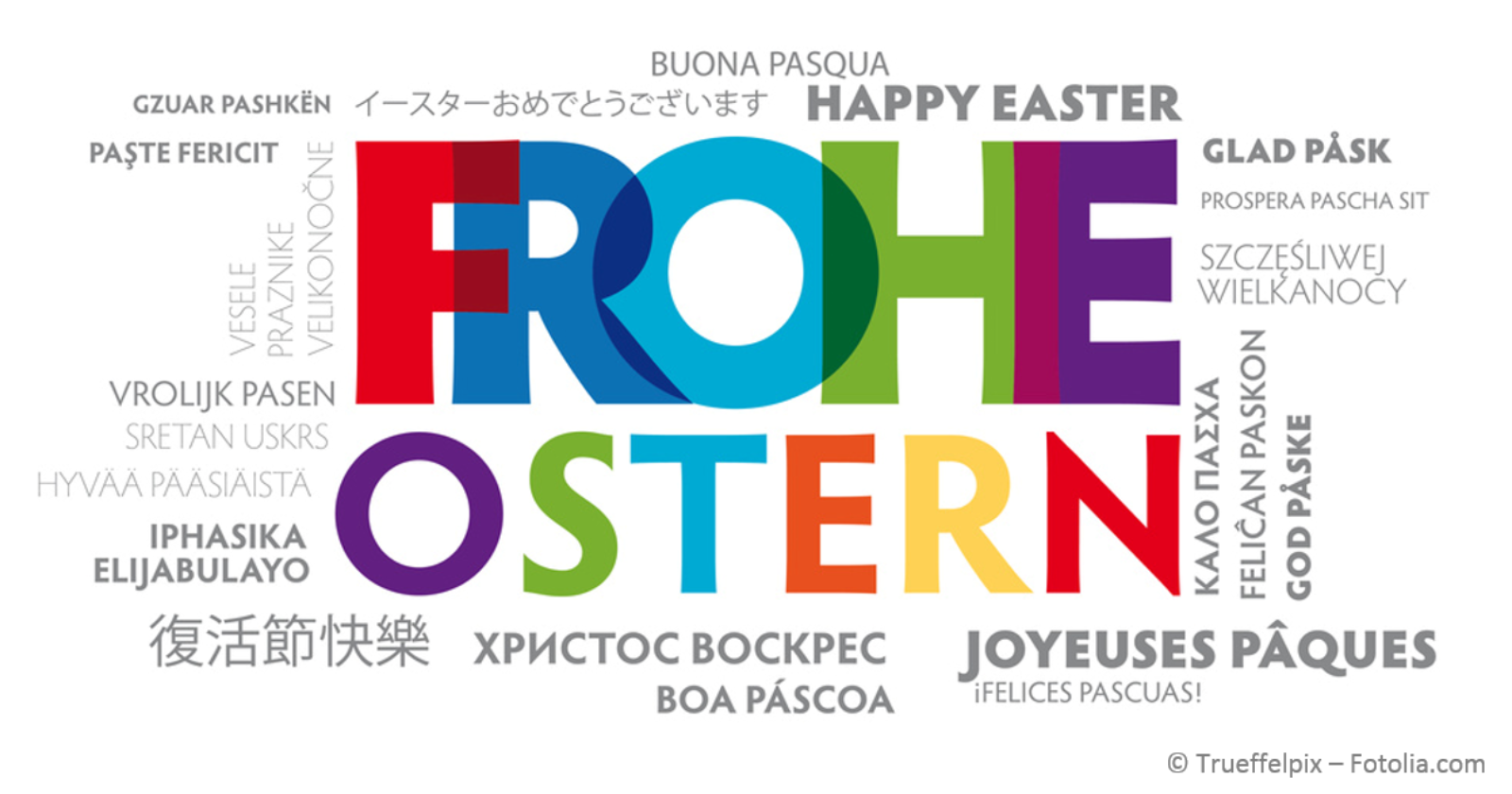 Die IG BAU Gebäudereinigung wünscht frohe Ostern!