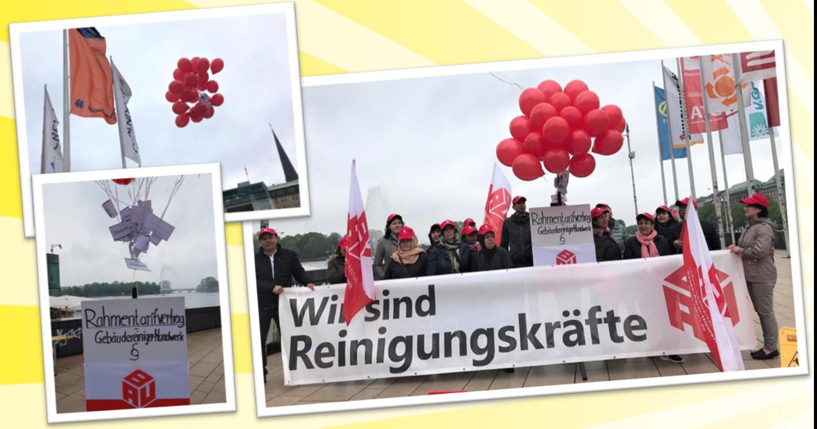 """Beschäftigte der Gebäudereinigung in Hamburg: """"Unser Rahmentarifvertrag fliegt davon"""""""