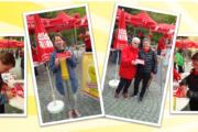 Thüringer Landtagsabgeordnete Diana Lehmann (SPD) und  Ina Leukefeld (Die Linke) unterstützen Forderungen der Gebäudereiniger