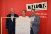 Oskar Lafontaine und die Die Linke im Saarland unterstützen Reinigungskräfte im Kampf um Tarifvertrag