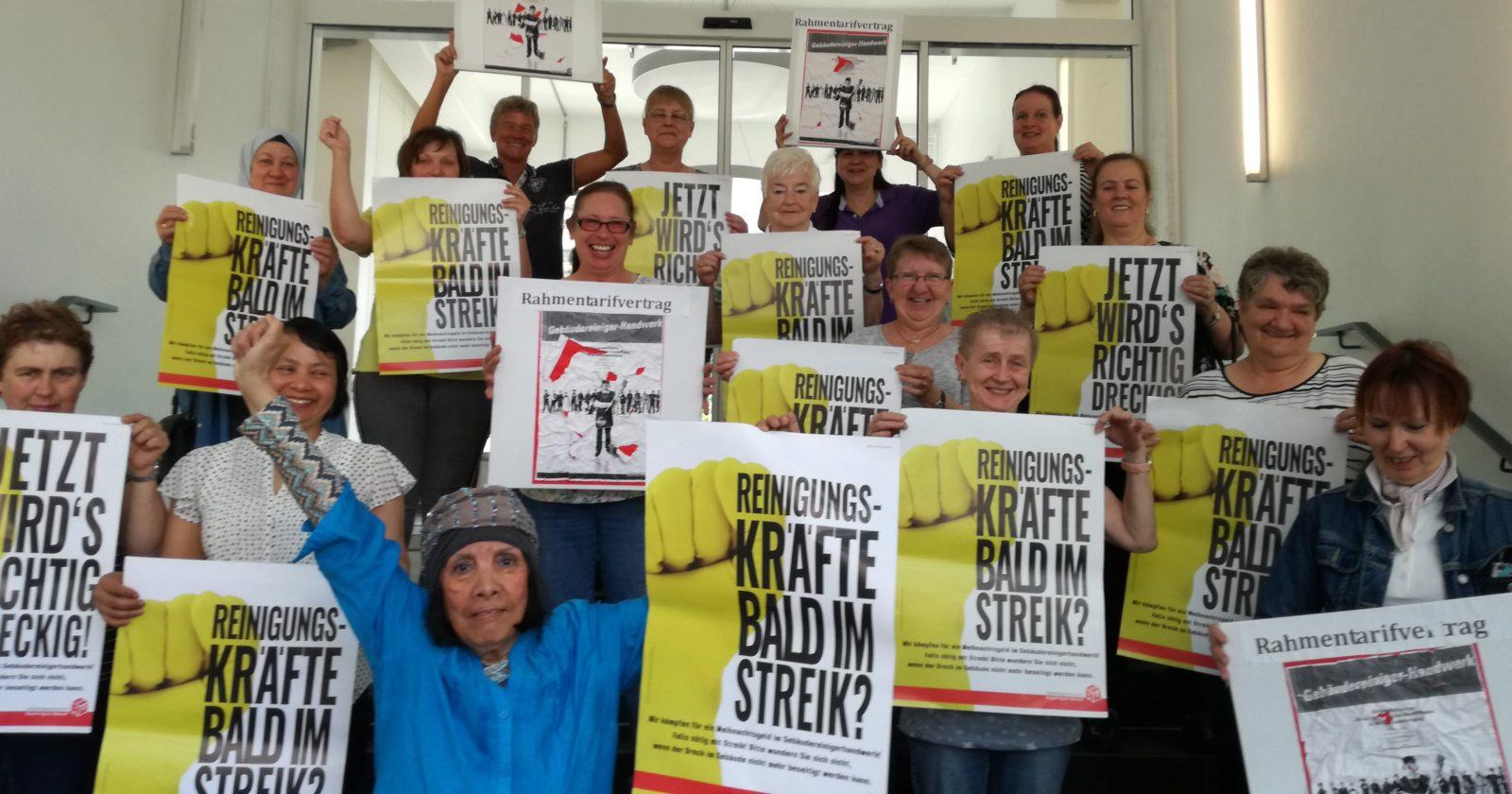 """""""Sie wollen wohl, dass wir streiken!"""" Reinigungskräfte aus dem Ruhrgebiet wütend auf Arbeitgeber"""