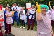 Frankfurt (a.M.): GebäudereinigerInnen im Markuskrankenhaus fordern Respekt am Tag der Gebäudereinigung