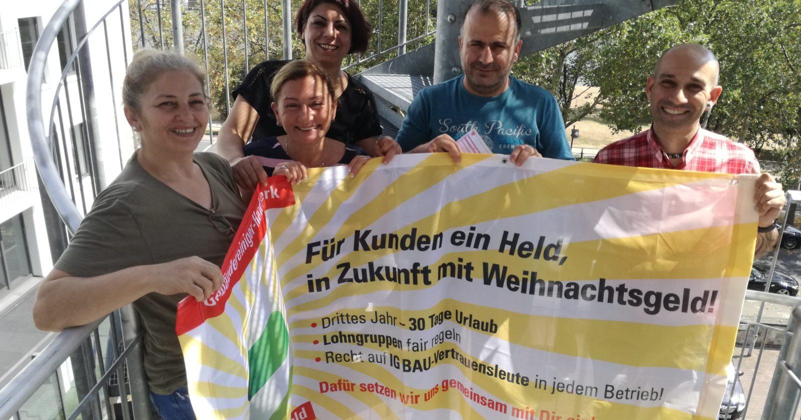 """Beschäftigte von Gegenbauer am Frankfurter Flughafen: """"Wir sind bereit zu kämpfen!"""""""