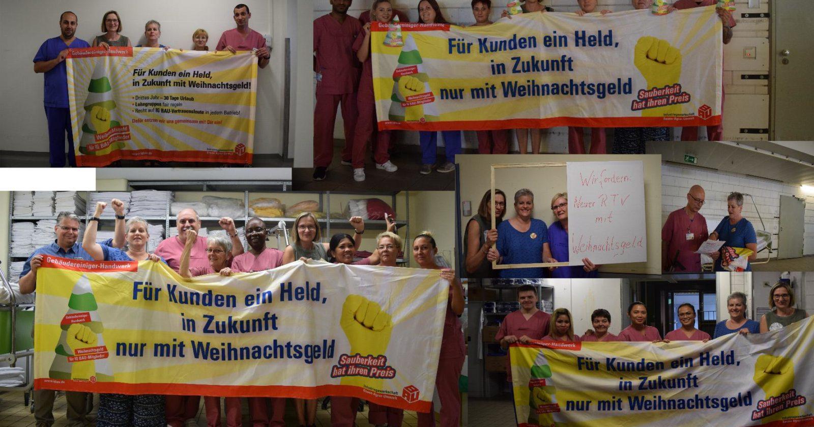 Info-Tag des Betriebsrates für Beschäftigte der Gebäudereinigung bei UKSSG an der Universitätsklinik des Saarlandes