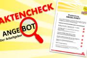 Flugblatt: Mogelpackung abgelehnt! Der Faktencheck zum Angebot der Arbeitgeber