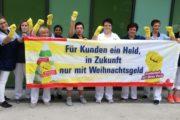 GebäudereinigerInnen im Elisabethen-Krankenhaus in Kassel sind kampfbereit!
