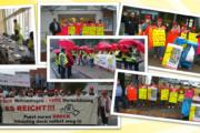 Soli-Aktion in Braunschweig - Warnstreiks in Hannover, Osterode, Hann. Münden und Hameln
