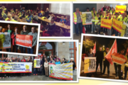 Auch in Ostdeutschland streikten Reinigungskräfte am Mittwoch und Donnerstag