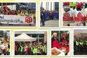 Flensburg: 150 Beschäftigte der Gebäudereinigung im Warnstreik