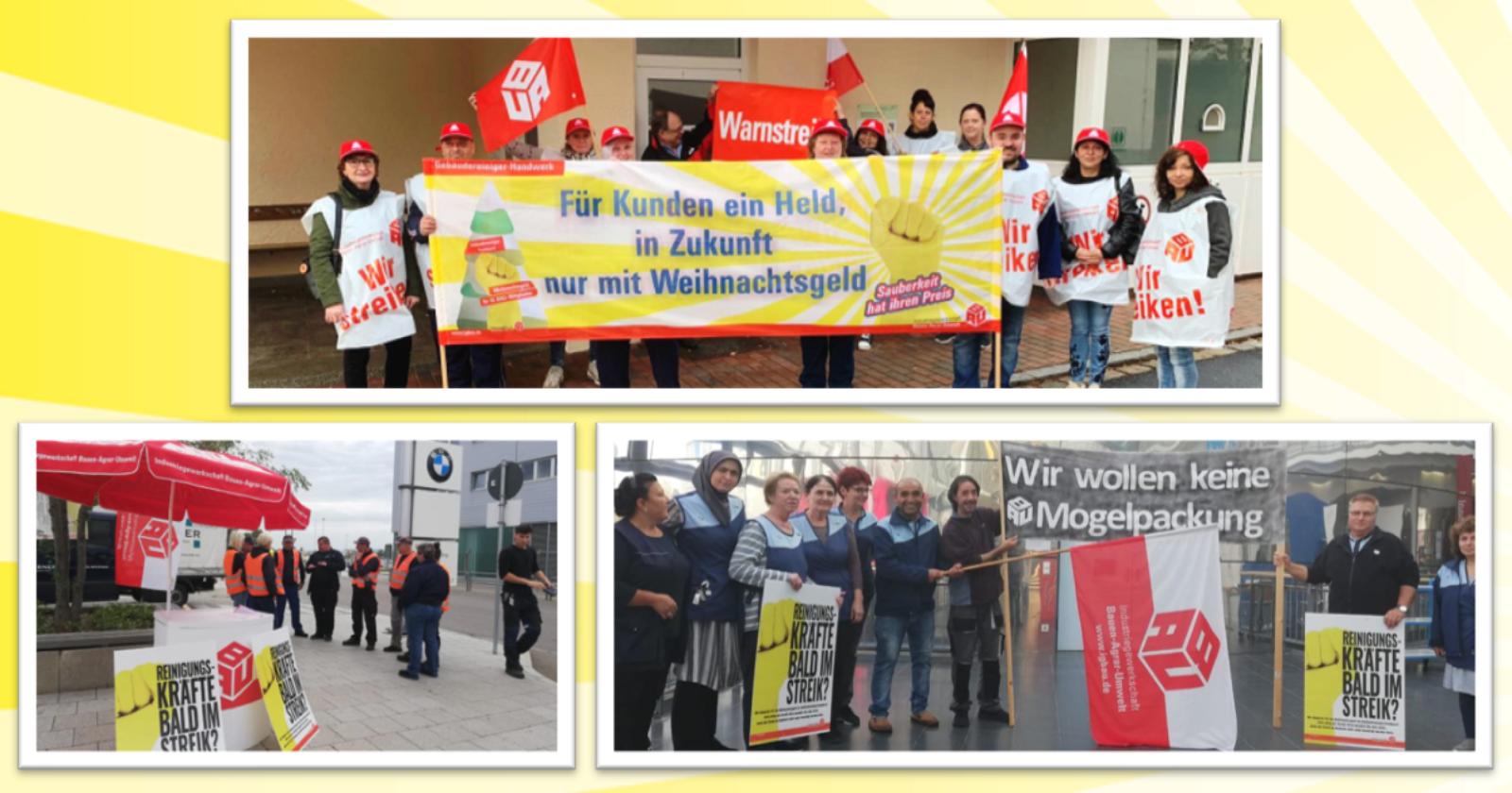 Warnstreiks und Aktionen in Bayern