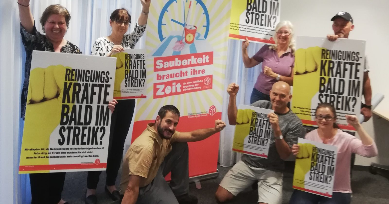 """Fachgruppe Gebäudereinigung München: """"Verhalten der Arbeitgeber ist respektlos"""""""
