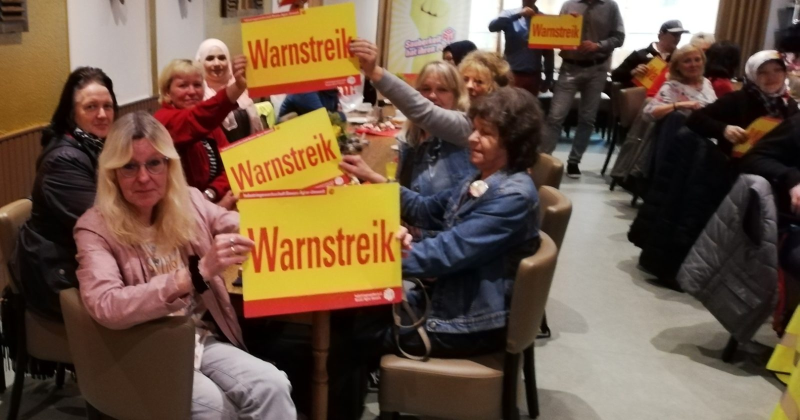 Reinigungskräfte in Westfalen seit heute Morgen im Warnstreik