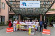 KNS Neuburg im Warnstreik – Beschäftigte lehnen Vorschlag der Arbeitgeber zur Sonntagsarbeit ab