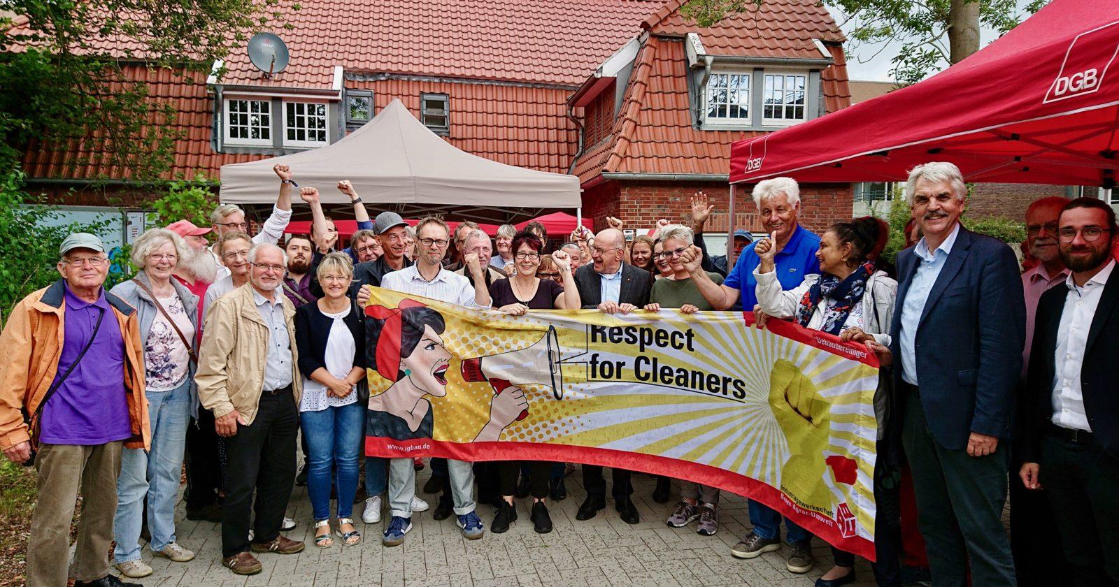 """Besucher auf DGB-Sommerfest in Wilhelmshaven: """"Wenn es sein muss, gehen wir mit euch auf die Straße"""""""