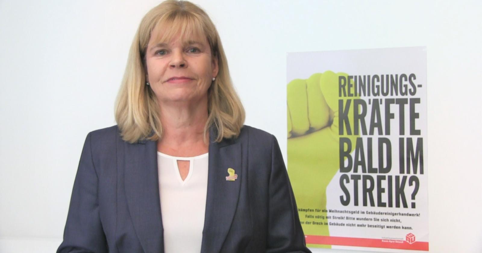 Videobotschaft an die Streikenden - Danke für Euren Einsatz!