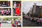 Über 100 Beschäftigte der Gebäudereinigung demonstrieren vor Piepenbrock - Zentrale in Osnabrück