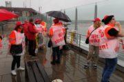 Update zum Warnstreik am Flughafen Münster-Osnabrück: Piepenbrock setzt Streikbrecher ein