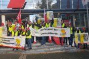 Aufstand der Unsichtbaren in Aachen – Beschäftigte von GEPE Peterhoff, Klüh & Piepenbrock im Warnstreik