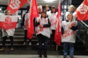 Warnstreik in den frühen Morgenstunden - Jade Hochschule in Wilhelmshaven bleibt schmutzig