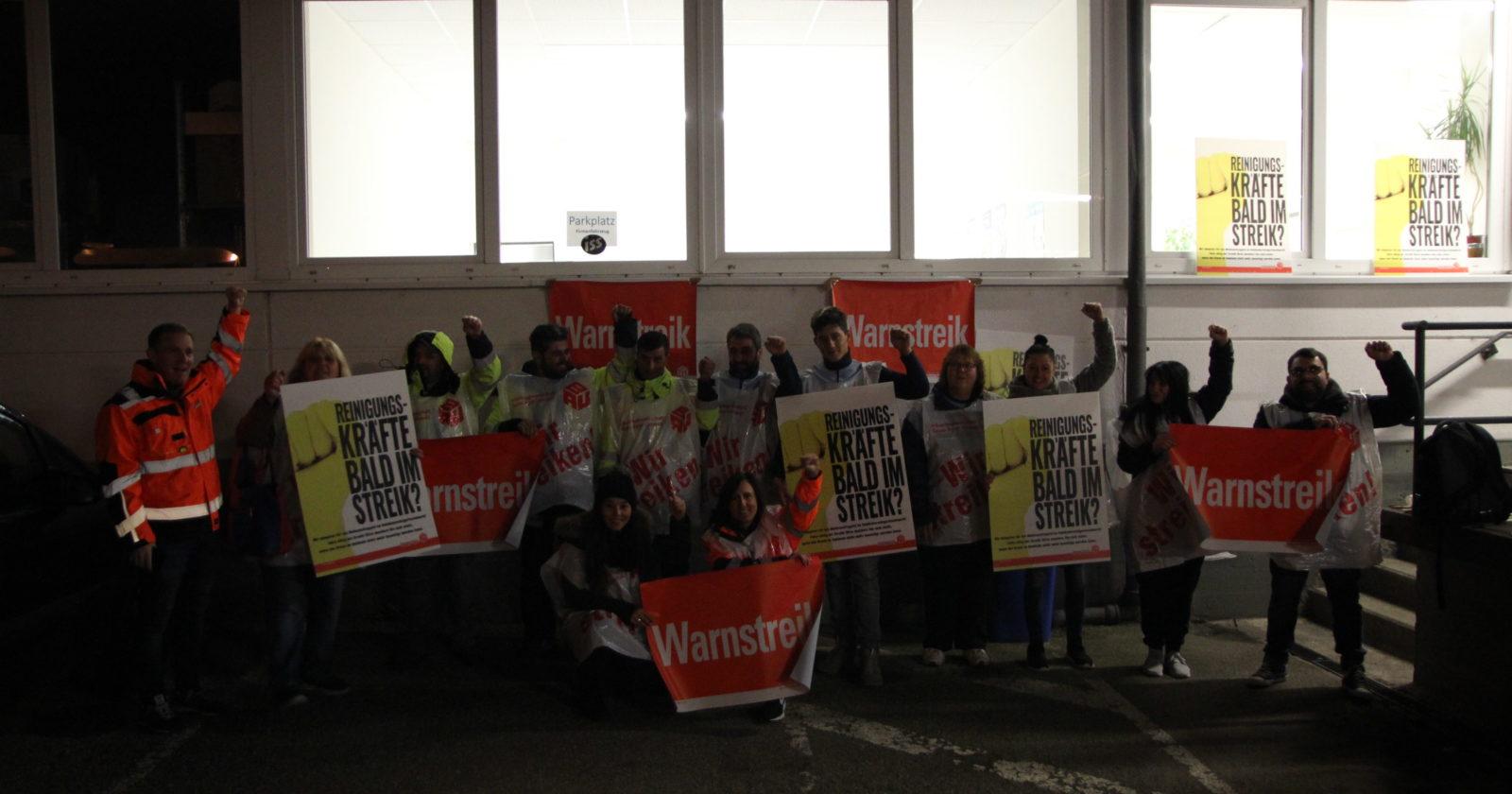 Beschäftigte von ISS Pharma bei Teva/Ratiopharm in Ulm streikten – Arbeitsdirektor wollte Streik verhindern