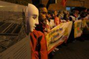 Foto-Impressionen vom Warnstreik der Beschäftigten von TipTop und ISS bei VW in Kassel