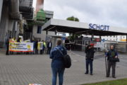 Streik bei Schott in Mainz
