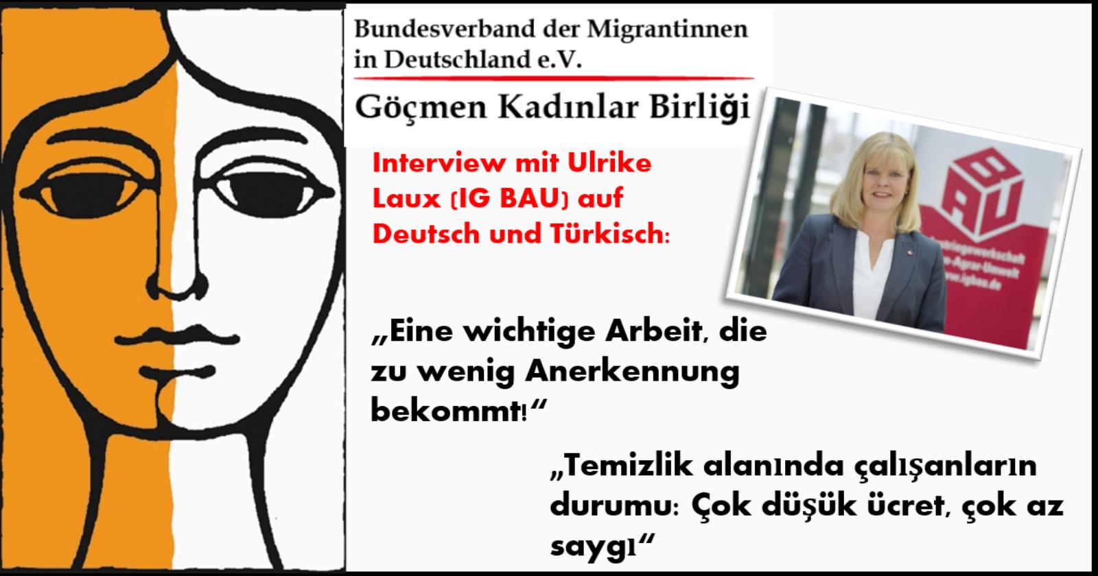 Interview mit Ulrike Laux auf migrantinnen.net: Eine wichtige Arbeit, die zu wenig Anerkennung bekommt!