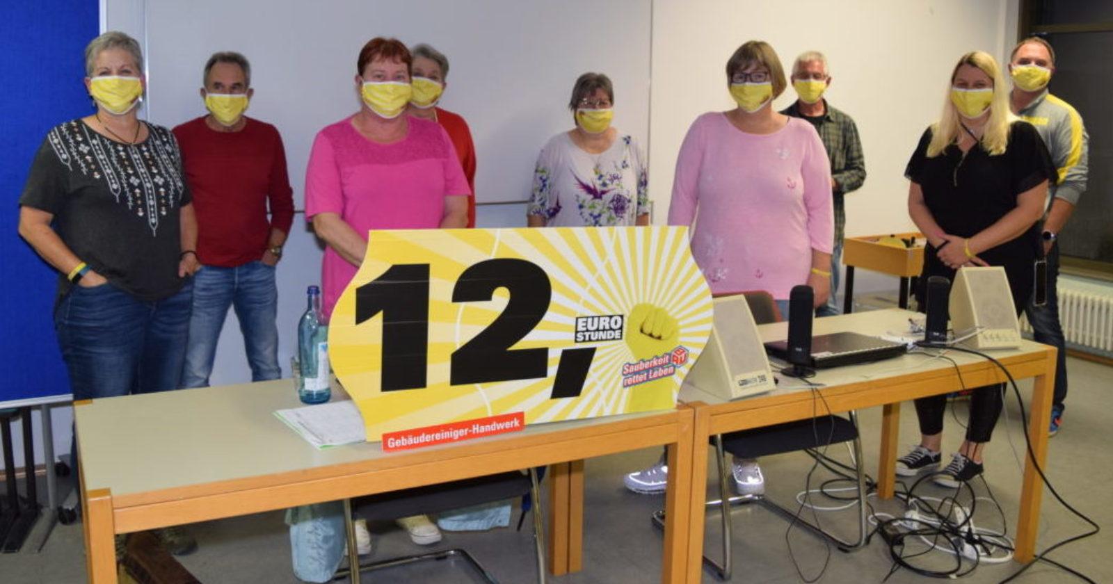 KollegInnen der Gebäudereinigung aus Saar-Trier berichten von Mehrarbeit durch Corona