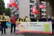 IG BAU Weser-Ems solidarisch mit streikenden Reinigungskräften im Öffentlichen Dienst