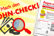 Für Beschäftigte in der Gebäudereinigung: Mach den Lohn-Check 2021