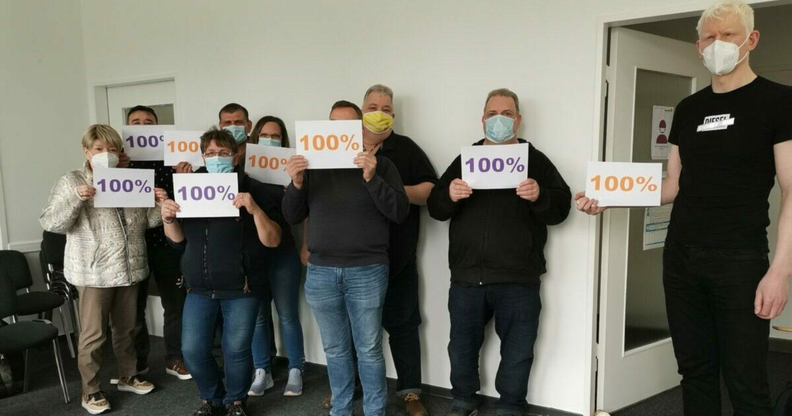 Betriebsrat und IG BAU zusammen erfolgreich: bei Piepenbrock in Berlin wird das Kurzarbeitergeld auf 100% aufgestockt!