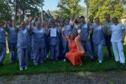 Gemeinsam erkämpft: Maskenzuschlag bei Asklepios Bad König